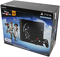 Sony Playstation 4 3001167 500 Gb Disney Infinity 3.0: Star Wars Gaming Console Bundle - 4 Collectible Figures - Infinity 3.0 Star Wars Game