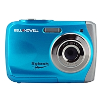 P The Bell  amp  Howell WP7 Splash camera is a 12 Mega Pixel waterproof digital camera that is easy to use, compact and handheld