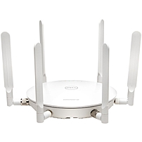 SonicWALL SonicPoint N2 w/o PoE Injector 24x7 Dynamic Support - 2.40 GHz, 5 GHz - 6 x Antenna(s) - 6 x External Antenna(s) - MIMO Technology - 2 x Network (RJ-45) - USB - AC Adapter, PoE+ - Wall Mount