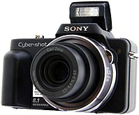 Sony Cyber-shot DSC-H3/B Digital Camera - 8.1 Megapixels ...