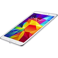 """Samsung Galaxy Tab 4 Sm-t337a 16 Gb Tablet - 8"""" 16:10 - 1280 X 800 - Plane To Line (pls) Switching Quad-core (4 Core) 1.20 Ghz - 1.50 Gb Hhd - Android 4.4 Kitkat - At&t - 4g - Lte, Hspa  - White - Wireless Lan - Bluetooth - Wwan Supported - Gps - Front Ca Sm-t337azwaatt"""