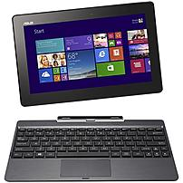Asus Transformer Book T100TA-B1-GR Tablet PC - Intel Atom Z3740 1.33 GHz Quad-Core Processor - 2 GB DDR3 SDRAM - 32 GB Solid State Drive - 10.1-inch Touchscreen Display - Windows 8.1 - Grey