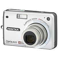 Pentax Optio A10 8 Megapixel Compact Camera - 2.5
