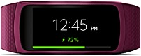 Samsung SM-R3600ZIAXAR Gear Fit2 Activity Tracker With Heart Rate - Medium/Large - Pink