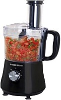 Black and Decker FP1140BD Full Size Food Processor 8 Cups Black