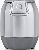 G-project G-20s G-pop Portable Wireless Bluetooth Speaker With Speakerphone - Silver