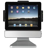 SMK-Link VP3650 PadDock 10 Stand for the Apple iPad - 30-pin Interface - USB - Silver