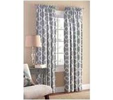 Mainstays 0080995509306 95 inch Single Panel Iron Work Curtain