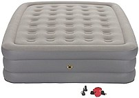 Coleman 076501137170 Guest Rest Double High Airbed with External Pump Queen