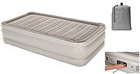Embark 490911302032 Double High Twin Air Mattress with Built In Pump