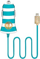 The Dabney Lee IA8003DO SEA Lightning Cable Car Charger adds a new flare to charging your Apple devices while on the go