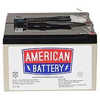 ABC 852857000067 Replacement Battery Cartridge 6 Maintenance free Lead Acid Hot swappable