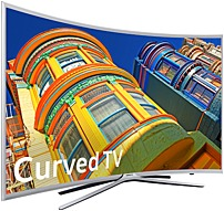 Samsung 6 Series UN49K6250AFXZA 49-inch Class Full HD Smart Curved LED TV - 1920 x 1080 - 120 MR - USB, HDMI