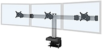 INNOVATIVE OFFICE 62717 3 104 Desk Mount For 3x LCD Monitors