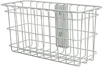 Rubbermaid FG9M38AA M38 Healthcare Wire Basket - White