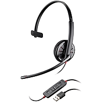 Plantronics Blackwire C310-m Headset - Mono - Usb - Wired - Over-the-head - Monaural - Supra-aural - Noise Cancelling Microphone 85618-05