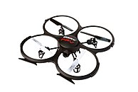 udi R/C UDIU818FPV 2.4 GHz FPV (First-Person View) Radio 6 Axis HD Drone Quadcopter - With Remote Control