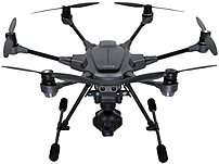 Yuneec Typhoon H Pro with Intel RealSense Technology - Ultra High Definition 4K Collision Avoidance Hexacopter Drone with 2 Batteries - ST16 Controller - Soft Backpack and Wizard - GCO3+ 4K Camera  - Black YUNTYHBRUS YUNTYHBRUS