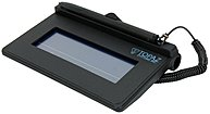 Topaz SigLite T-S460-B-R Electronic Signature Capture Pad - Serial - 4.30 x 1.40 inches