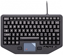Havis PRO-KB-117 Rugged In-Vehicle Keyboard