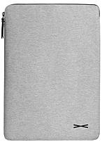 Targus OSS00304 Opin Slim 13-inch Laptop Sleeve - Carbon Gray - Two-tone interior Gray/Gold - Nylon