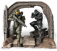 Microsoft CV4-00004 Halo 5 Limited Collector's Edition - First Person Shooter For Xbox One - Commemorative Statue of the Master Chief and Spartan Locke by TriForce - Digital Download - No Disc CV4-00004
