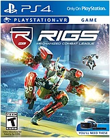 Sony 3001638 Playstation 4 Rigs Mechanized Combat League Video Game