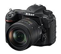 Nikon 1560 D500 DX-Format SLR Digital Camera with 16-80mm ED VR Lens - 3.2-inch Touchscreen LCD - 16:9 - 5x Optical Zoom - i-TTL - 5568 x 3712 Image - 3840 x 2160 Video - HDMI - PictBridge - HD Movie