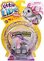 MOOSETOYS 630996281185 Little Live Pets LiL Mouse - Smooch 630996281185