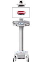 Rubbermaid 1908147 Care Link Mobile Telepresence Cart