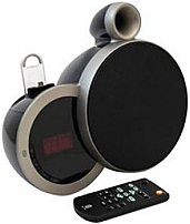 Sherwood DS-N10A/BA 2.0 Speaker System - Wireless Speaker - Clock Radio - Dock with Android Devices Cradle - Black