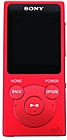 Sony Walkman NW-E395 16GB* MP3 Player Red NW-E395/R