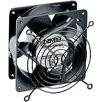 Middle Atlantic Products Qfan Cooling Fan - 1 X 114.3 Mm - Ball Bearing