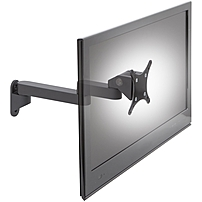 Ergotech Wall Mount for Flat Panel Monitor - 35 lb Load Capacity