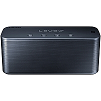 Samsung Level Box Speaker System - Portable - Battery Rechargeable - Wireless Speaker(s) - Black - Bluetooth - Near Field Communication - Usb - Wireless Audio Stream Eo-sg900dbesta