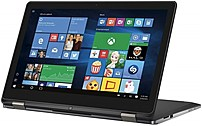 Dell Inspiron 15 7000 Series I7568-5249T Convertible Notebook PC - Intel Core i7-6500U 2.5 GHz Dual-Core Processor - 8 GB DDR3L RAM - 256 GB Solid State Drive - 15.6-inch 4K UHD Touchscreen Display -