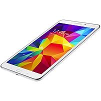 Samsung - Galaxy Tab 4 8.0 Wi-Fi + 4G LTE - 16GB (AT&T) - White SM-T337AZWAATT