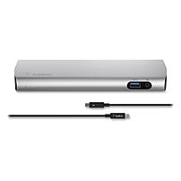 Belkin Thunderbolt 2 Express Dock HD with Cable - for Notebook/Desktop PC - Thunderbolt 2 - 3 x USB Ports - 3 x USB 3.0 - Network (RJ-45) - HDMI - Microphone - Wired F4U085TT F4U085TT