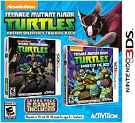 Activision 047875770645 Teenage Mutant Ninja Turtles: Master Splinter's Training Pack - Action/Adventure Game - Nintendo 3DS 047875770645