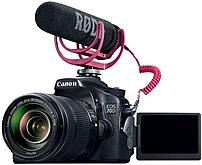 Canon EOS 70D 8469B155 20.2 Megapixel Video Creator Kit - 7.5x Optical Zoom - 3-inch LCD Display - USB