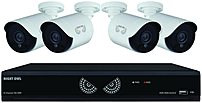 Night Owl B10LHDA841720 Security System - 8 Channel DVR - 4-Camera with Night Vision
