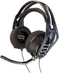 Plantronics RIG 500HD 7.1 Surround Sound PC Headset - Black - USB - Wired - 32 Ohm - 20 Hz - 20 kHz - Over-the-head - Binaural - Circumaural - Yes