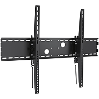 Ergotech Wall Mount for TV - 100' Screen Support - 220 lb Load Capacity - Black