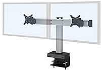 Innovative Office 62717 2 104 Dual LCD Screen Mount Up to 24 inches Motorized