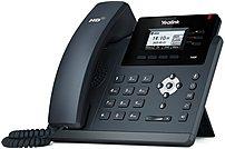 Yealink SIP-T40P 3 Line VOIP Phone - Black