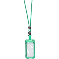 Icat Dri Cat Underwater Case for iPhone Lime Water Proof Silicone Lanyard Strap 11043CP C107
