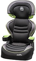Evenflo 032884189373 ProComfort Amp LX Booster Seat Black Green