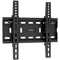 Ergotech Wall Mount for TV - 55' Screen Support - 165 lb Load Capacity - Black