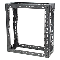 Innovation 119 1752 Wall Mount Rack Frame 12U Wide Black 300 lb x Maximum Weight Capacity