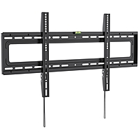 Ergotech Wall Mount for TV - 70' Screen Support - 110 lb Load Capacity - Black